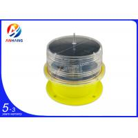 Solar powered LED obstruction light/solar aircraft warning light ICAO type B/Solar tower lights