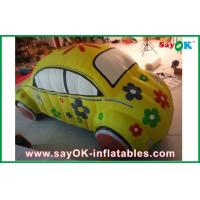 Quality Custom Inflatable Products Advertising Inflatable Car Model With Logo Printing for sale
