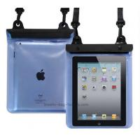 Buy Transparent Waterproof Pouch Bag TPU / PVC Materials 100% Sealed For Ipad at wholesale prices