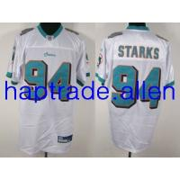Quality Jerseys Wholesale 100% Nylon Mesh Miami Dolphins #94 Randy Starks White cheap nice jerseys Wholesale free shipping and mix order for sale