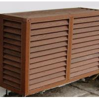 China Waterproof Embossed WPC Wall Cladding /  Exterior Composite decking on sale