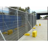 Buy cheap Galvanized Steel Metal Temporary Mesh Fence UV Protected Fashion Design from wholesalers
