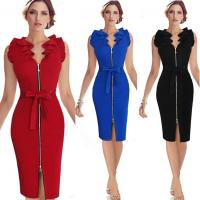 China Latest Business Office Dress For Women on sale