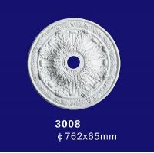 Quality 3008 Fuax Interior Decorative Custom-made Ceiling Medallion for sale