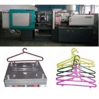 Quality LCD Control Electric Injection Moulding Machine For Plastic Cloth Hanger / Cloth Peg for sale
