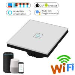 Quality EU Standard Wifi Light Switch Wall Switch Wireless Smart Switch 220v APP Control with Alexa/google home 1/2/3 Gang for sale