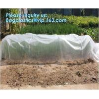Quality pp material woven fabric in tubular roll with black colour for agricultural mulch film, Biodegradable pp spunbond nonwov for sale