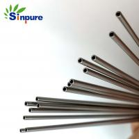 China Medical Grade Small Diameter Stainless Steel Tube Polished With Blunt End on sale
