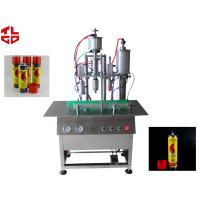 China Semi Automatic LPG Gas Filling Machine / Butane Gas Refilling Machine High Speed on sale