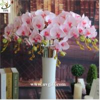 Quality UVG China supplier make artificial flower arrangements in silk orchid flowers for sale for sale