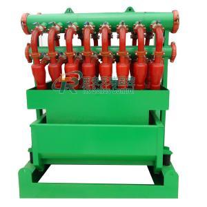 China 180m3/h Polyurethane Hydrocyclone System , Multi - Function Mud Desilter on sale