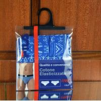 Buy cheap Garment  Laminated Zip Plastic Poly Bag with Hanger Custom Printed product