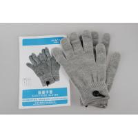 Buy cheap Comfortable Silvery Fiber Electrode Gloves For Massage Therapy from wholesalers