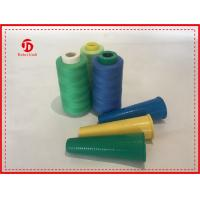 Quality High Temperature Resistant Ring Spun Polyester Yarn For Sewing , 3000m-6000m Length for sale