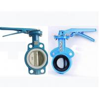 China 3Dn80 Wafer Type Butterfly Valve Cast Ductile Iron Body Disc Epdm Epr on sale