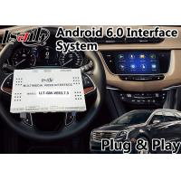 Quality Android 6.0 GPS Navigation Video Interface for Cadillac XT5 / XTS / SRX / ATS / CTS 2014-2018 CUE System for sale