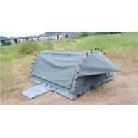 Quality 4WD Swag 1 Person Canvas Tent Fire Prevention Fabric Material For Outdoor Entertainment for sale