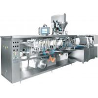 China Vacuum Rotary Pouch Packing Machine , Rotary Packaging Machine For Stretch Film Food on sale