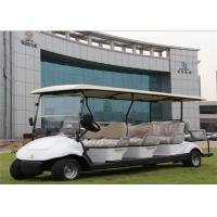 Quality White 8 Seater Electric Car Golf Car With Plastic Bodywork With CE For Hotel / Resort for sale