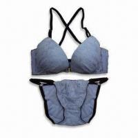 Quality Lingerie Set with Padded Bra and Panty Set, Available in Assorted Sizes for sale