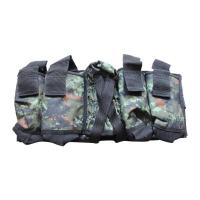Quality Nylon oxford Camouflage Paintball Tactical Gear 4+1 Paintball Harness for sale