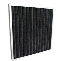 Quality High Efficiency Pleated Panel Air Filters / Active Carbon Air Filter For Hospital for sale