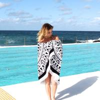 Buy cheap 2016 hot sale 100% cotton terry velour round beach towels with tassels product