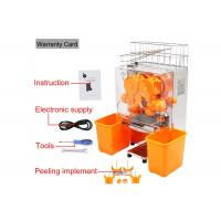 Quality Desk Top Fresh Orange Juice Squeezer With Stainless Steel Touch pad for sale