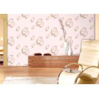 Quality Eco-Friendly Low Flammability Living Room Wallpaper , Interior Decorating Wallpaper for sale