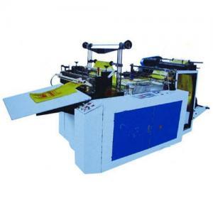 Heat-sealing& cold-cutting bag-making machine