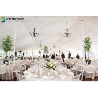 China Romantic aluminum structure wedding tent Cheap large wedding marquee party tent for sale, marquee church tent on sale