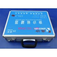 Quality MS-FA-98 Aluminium First Aid Box / Doctor Carry Cases For Packing Medical Tools for sale