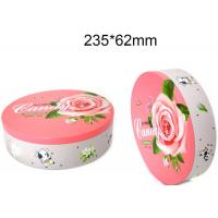 Quality Round Hinged Altoid Case Food Packing Boxes Empty Mint Tin Cans Long Lifespan for sale