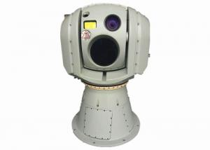 Quality LWIR Uncooled VOx FPA Multi - sensor Electro - Optical Infrared Long Range Surveillance Targeting System for sale