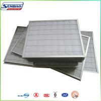 Quality Industrial Clean Room Pleated Panel Air Filters Synthetic Fiber for sale