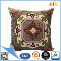 Quality Custom OEM Wholesale Decorative Pillow Cover , Square Modren Throw Pillows With Polyester Or Cotton for sale