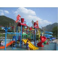 Quality Water Entertainment Kids Water Playground , Summer Fun Water Park 50 People for sale