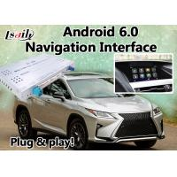Quality Android 6.0 Navi Lexus Video Interface Box for 2012-2017 RX450 RX350 RX270 with Mirrorlink for sale