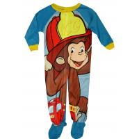 China ODM One Piece Cozy Fabric Cotton childrens Footie Pjamas , boby Baby Clothing on sale