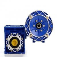 China NMRV RV Ratio 20/1 56C Worm Reduction Gearbox With Double Shaft 50Hz Frequency on sale