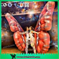 Quality Vivid Inflatable Cartoon Characters , Digital Printing Inflatable Butterfly Wing Model for sale