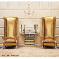 Custom Golden Royal Western Living Room Furniture Leather