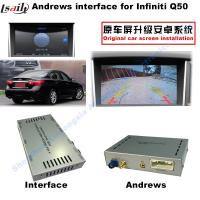 Navigation Video Interface for 2015-2016 Infiniti Q50 Q60 Andorid services, online navigation video play