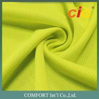 Quality 100% Polyester Quick Dry Mesh Fabric For Sport Uniform 180gsm Width 150cm for sale