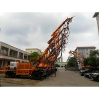 Quality 15t Diesel Power Three Section Boom Robotic Shotcrete Machine for sale