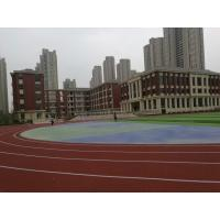 Noise Reduction EPDM Running Track , Athletic Stadium EPDM Crumb Rubber Surface