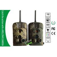 SMS GPRS 940nm Stealth Camera , Outdoor Trail Cams With External Antenna