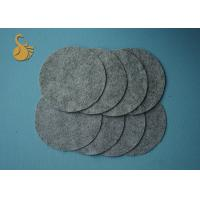 Quality Anti Slip Carpet Non Woven Cloth , Non Woven Fabric PVC Dotted Coffee Color for sale