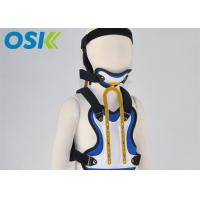 Quality Three Size Neck And Back Brace , Low Temp. Thermoplastic Neck Chest Orthotics for sale
