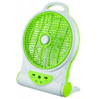 Buy cheap 10 Inch Multifuction Electric Rechargeable Fan With Mobile Phone Charger product